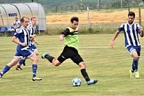 Fotbalová příprava: Osek - Sousedovice 3:1.