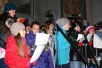 Česko zpívá koledy, Velké náměstí, 18 hodin