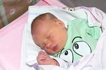 Vanesa Braunová, Radomyšl, 6.12. 2016 v 8.10 hodin,  3550 g. Malá Vanesa je prvorozená.