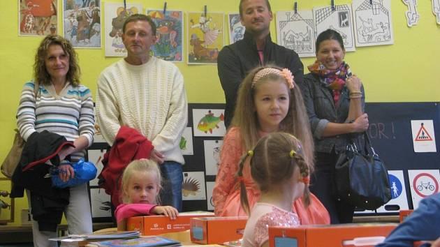 První školní den v Sedlici