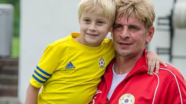 Jan Zušťák se vrací do Strakonic, kde s fotbalem začínal.