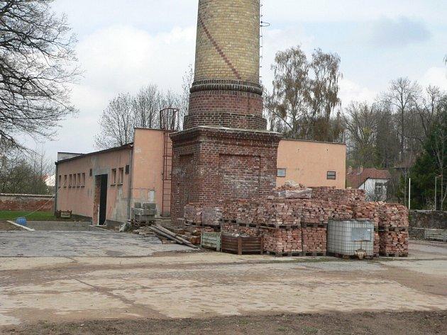 Termická pec má být v prostorách bývalé kotelny.