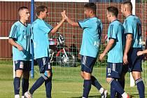 Fortuna divize: Katovice - Hořovice 6:0 (1:0).