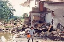 Jak řádila velká voda na Strakonicku v roce 2002.