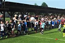 Nejmenší fotbalisté ze Strakonicka se tentokrát sjeli do Katovic.
