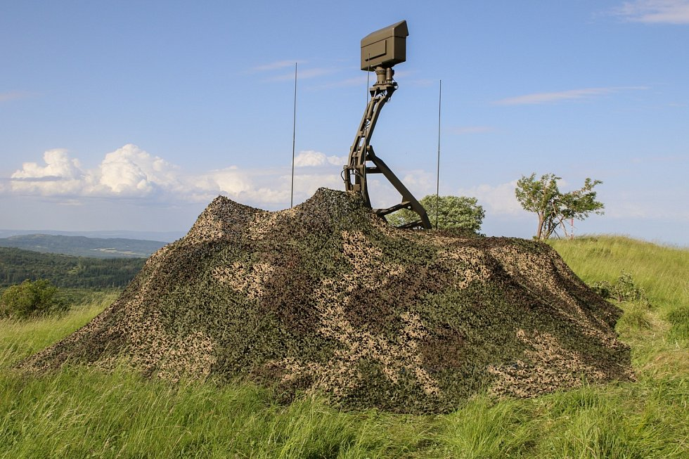 Přehled o vzdušné situaci mají vojáci díky radaru ReVISOR.