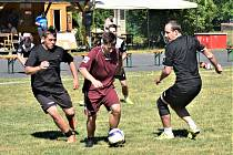 V Mečichově se hrál již 9. ročník zajímavého turnaje v malém fotbale.