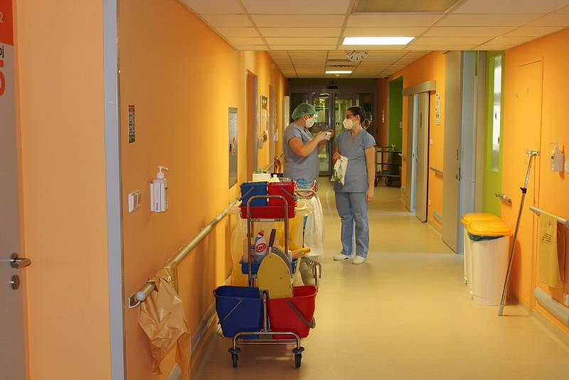 Návštěva ve strakonické nemocnici.