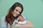 Kristián Balun, Vodňany, 15.11. 2017 ve 3.10 hodin, 2970 g. Malý Kristiánek je prvorozený.