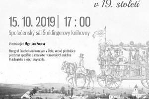 Specifika a charakter venkovských sídel na Prácheňsku v 19. století.