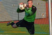 Katovický brankář Tomáš Švehla zatím inkasoval osm gólů.