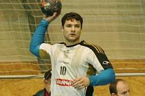 Házenkář Petr Masák.