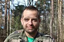 Jedním z  organizátorů festivalu zdravého jídla je Jan Juráš z Ekoporadny.