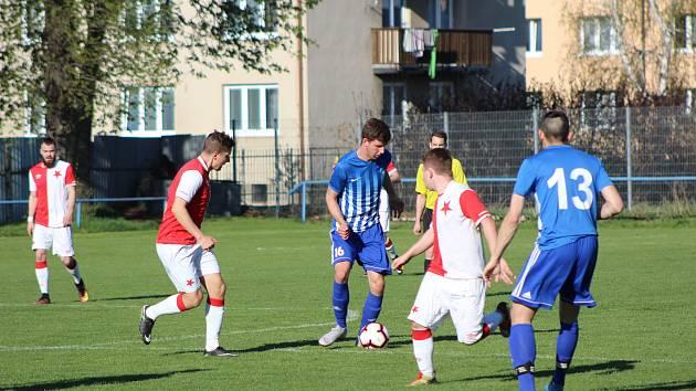 Fotbalová I.A třída: Vodňany - Slavia ČB 1:1.