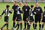 K derby fotbalového žákovského kraje přijel do Volyně Junior Strakonice. Slavili domácí.