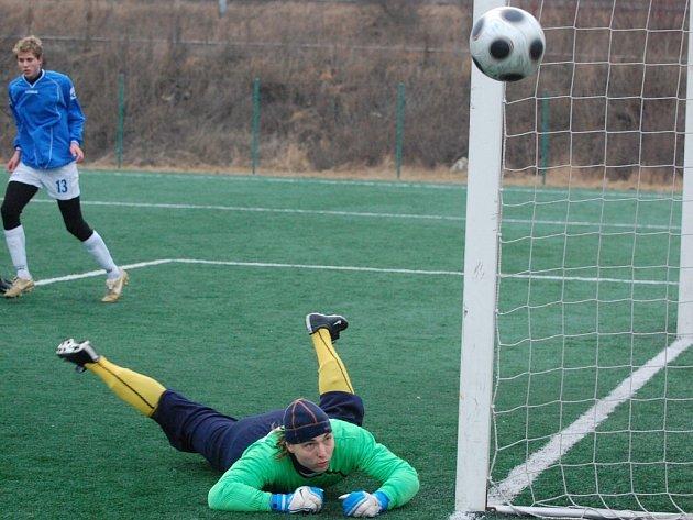 V sousedském derby strakoničtí fotbalisté podlehli Písku 0:1.