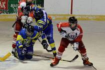 Osmáci HC Strakonice porazili Třemošnou 3:2.