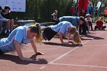 Odznak všestrannosti olympijských vítězů 2019 ve Strakonicích.