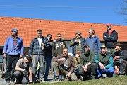 V sobotu se na brigádě sešli opravdoví muži ze Skaličan.