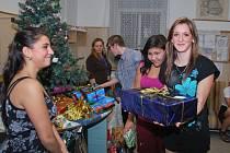 Vánoce v Dětském domově ve Volyni.