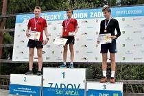 Hynek Novák obsadil třetí místo.