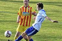 Fotbalová I.A třída: Vodňany - Junior Strakonice 2:1.