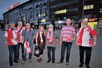 Strakonická odbočka přátel Slavia Praha vyrazila na zápas SK Slavia Praha-FK Jablonec.