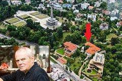 Slovenský herec Milan Kňažko bydlí pod Slavínem v Bratislavě