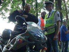 Policisté se zaměřili hlavně na motorkáře.