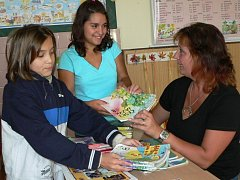 Na školní rok se školáci i učitelé připravovali s předstihem.