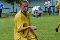 Josef Němec byl hrdinou Sedlice. Díky jeho gólu prohrály favorizované Dražice 0:1.