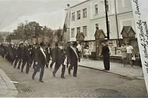 Vernisáž výstavy ke 150. výročí založení Jednoty Karla Havlíčka Borovského ve Strakonicích.