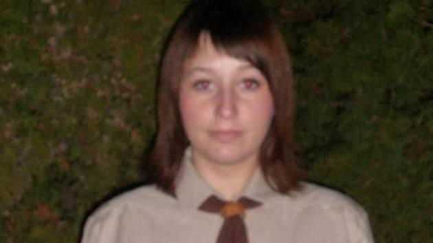 Gabriela Velková je u skautu 9 let.