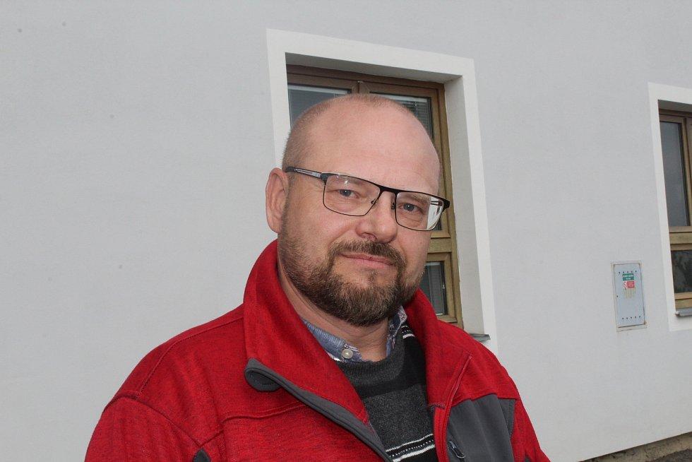 Ředitel SÚS Strakonice Robert Vavřík.
