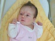 Zuzana Kroupová, Cehnice, 25.5. 2017 ve 21.35 hodin, 3510 g. Malá Zuzana je prvorozená.