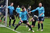 Fotbalová Fortuna divize: Katovice - Hvězda Cheb 3:5.