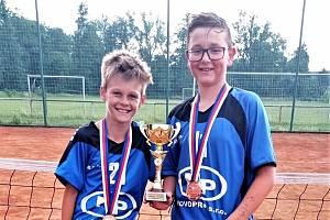 Tomáš Jareš a Matyáš Sliacký vybojovali bronz.
