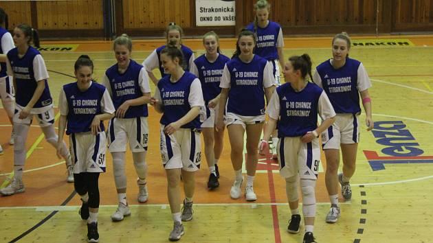Strakonické basketbalistky v Trutnově vedly o šest bodů, na výhru však nedosáhly.