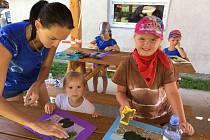 Příměstský tábor s Ferdou Mravencem si děti v Cehnicích parádně užily.