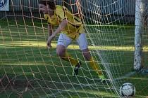 Katovice vyhrály v Bernarticích 5:0. Raduje se Karel Cibulka.