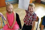 V Radomyšli ukončili žáci místní základní školy docházku už ve čtvrtek 25. června.