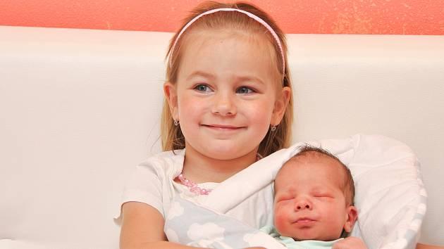 Václav Kolář z Černěvsi. Vašík se narodil 6. června 2019 ve 4 hodiny a 37 minut a jeho porodní váha byla 3000 gramů. Doma již na bratříčka čekala Anička (3).