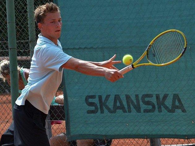 Ve dvouhře mužů byl nejlepší Jakub Vítek (Lokomotiva Plzeň).