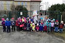 Vítání jara v MŠ Čejetice.