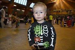 OBRAZEM: Na dětský maškarní bál, který ve Vodňanech v sobotu 20. ledna pořádal Sbor dobrovolných hasičů přišlo v doprovodu svých  rodičů 150 dětí. A tančili všichni!