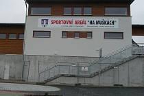 Sportovní areál Na Muškách ve Strakonicích.