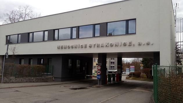 Nemocnice ve Strakonicích.