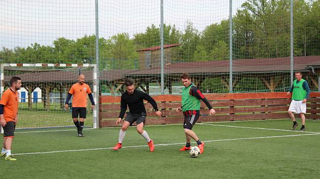 Přípravu již rozjeli i fotbalisté béčka Katovic.