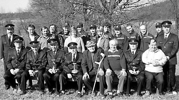 Sbor dobrovolných hasičů v Zahorčicích u Volyně.