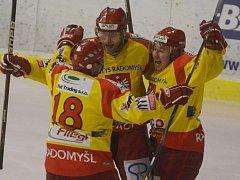 Radomyšl vyhrála rozhodující třetí zápas v Soběslavi 5:2.